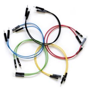 Cables Dupont para Protoboard M/M 10 Unidades